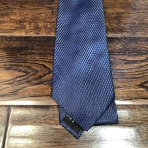 Hugo Boss Accessories - Hugo Boss silk Blue shiny tie